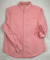 Plus size cotton oxford shirt.