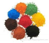 Hot Sale Red/Yellow/Black/Brown/Green/Blue/Orange Iron Oxide (Fe2O3) Pigment 96