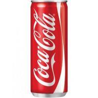 COCA COLA SLEEK CANS 33CL