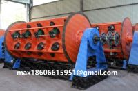 Wire cable Rigid Stranding Machine Winding for al copper steel wire shaped or round conductor stranding