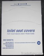 Sell disposable paper toilet seat cover