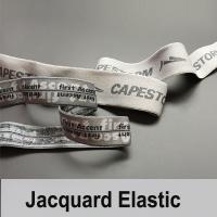 Customized jacquard elastic for underwear waistband