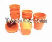 Terracotta Red Clay Succulent Mini Planter Pot 4 cms for plants