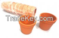 Red Clay flower pots