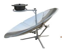 solar reflector heating cooker