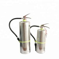 3L Portable stainless steel water-base fire extinguisher for household use