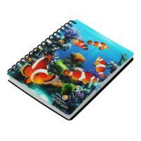 Spiral a5 Address Book/School Spiral Notebook With Spring Flowers