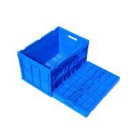 100% virgin PP folding storage box fruit crate collapsible Plastic Box