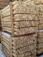 Canadian Northern White Cedar logs and posts straight diameter