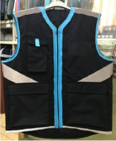 Mens work gilet workwear vest work uniforms