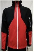 Softshell jacket teamwear sports jacket coach wear breathable function