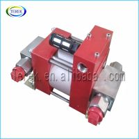 Hot selling high pressure pneumatic liquid booster pump for various industry