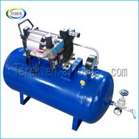 Hot selling Automatic small pneumatic air booster pump system for food  industry