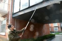 telescopic gutter water wand