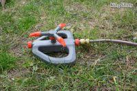 rotary plastic water sprinkler