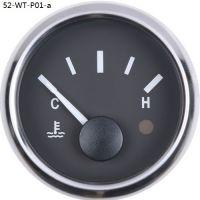 Supply 52mm auto water temp gauge 4-7USD