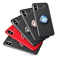Ring Kickstand Mobile Phone X Case For Iphone 7 7Plus Case 8 Plus Case