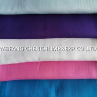 100% Rayon twill 125gsm/140gsm 150cm dyed fabric packed by roll