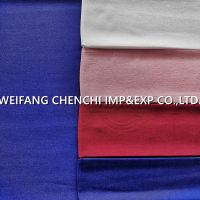 100% Rayon heavy 210gsm dyed fabric packed by roll