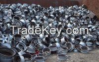 Aluminium wheel scraps/Aluminum UBC Scrap