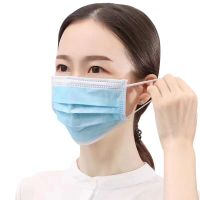 Share CE FDA 3 ply Non woven Protective disposable face mask suppliers