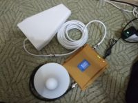 Cell Phone Signal Booster Dual band 9001800MHz GSM3G DCS LCD Repeater Amplifier Kit