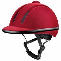 Velvet Texture Equestrian Helmet
