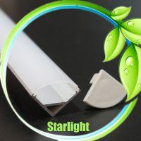 Led channel aluminum profile for led bar