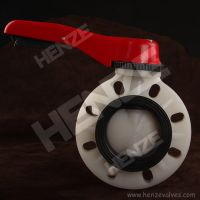 Plastic Manual Butterfly Valve