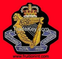 Hand Embroidery Bullion wire Badges