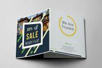 Promotion folding brochure