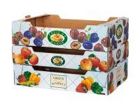 Printed Custom Fruit Corrugated Packaging Box