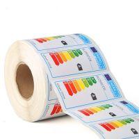 Custom label printing refrigerator Energy stickers