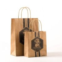 cheap recycled paper gift bag factory