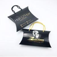 Elegant Customized Weave Wig Pillow Box