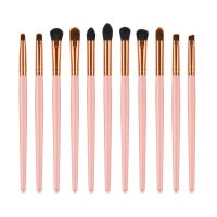 Drop Shipping Makeup Brushes 11pcs Makeup Brush Cleaner Tool Powder Toiletry Make Up Brush Set Cosmetic Brushes