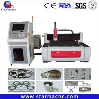 Jinan Supplier Low Noise Stainless Steel CNC Fiber Laser Cutting Machine