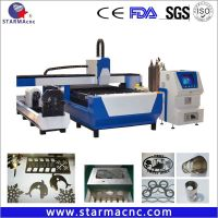 500/750/1000/2000W Stainless Steel Carbon Steel Fiber Laser Cutting Machine