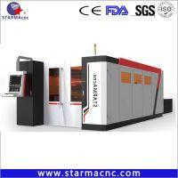 Metal/Carbon Steel/Brass/Aluminum Fiber Laser Cutting Machine for Sale