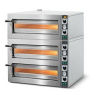 PIZZA OVEN ELECTRIC  3 deck stone cooking platform