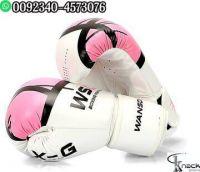 UFC Official Fight Black Gloves MMA Fighting Glove Wrist Wraps Large Adjustable