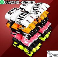 MMA UFC Boxing Gloves PU Leather Grappling Punching Bag Training Fight Sparring