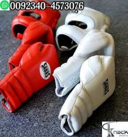 Leather Half Mitts Glove Mma Ufc Muay Thai Gloves One Pair Mixed Martial Artists