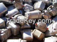 Aluminium body gas meters scrap