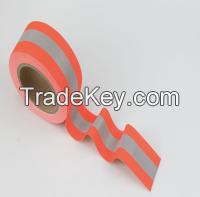 305 Reflective Flame Retardant Tape Yellow Orange