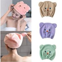 2019 New Good Crystal hygroscopicity and breathability  microfiber hair turban quickly dry hair wrapped hat towel towel