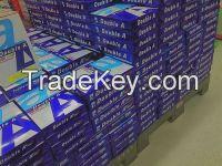 Quality White Navigator A4 Copy Paper 70gsm/75gsm 80gsm for sale