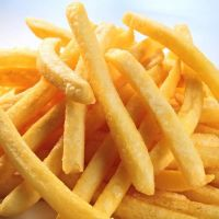 Frozen french fries.