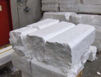 EPS block scraps and Compacted EPS Blocks