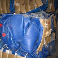 HDPE BLUE DRUMS SCRAPS IN BALES